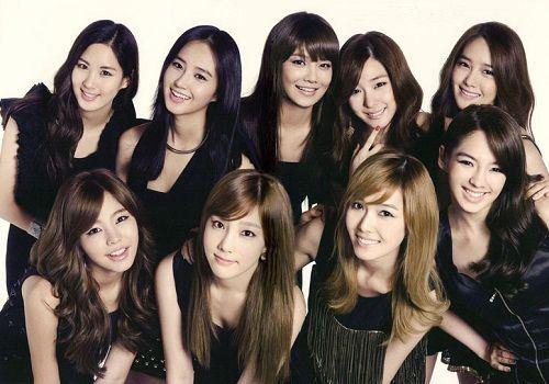 10 Artis terpopuler Korea versi Forbes Korea Girls' Generation